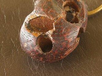 多孔質のネックレス の画像