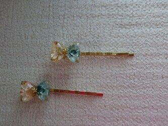 お花のヘアピン(2本入り)の画像