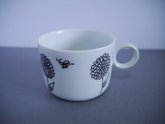 ダリアのマグカップの画像
