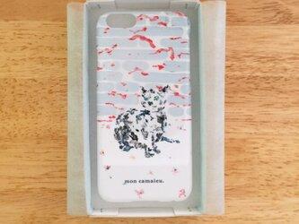 ロシアンブルー  スマホケース iPhone6/6sの画像
