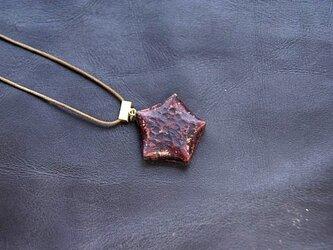 五芒星のネックレスの画像