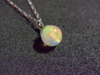 ネックレス 虹のしずくSS(1cm) 液体結晶の画像