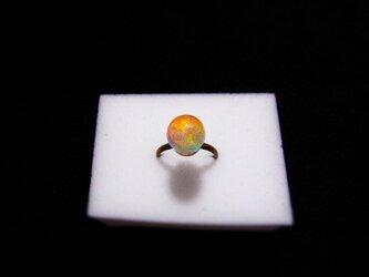 指輪 虹のしずく (1cm) 液体結晶の画像