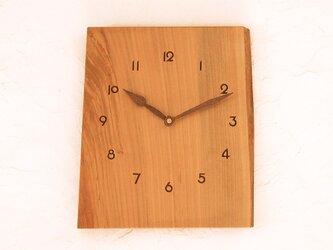 掛け時計 桜材⑦の画像