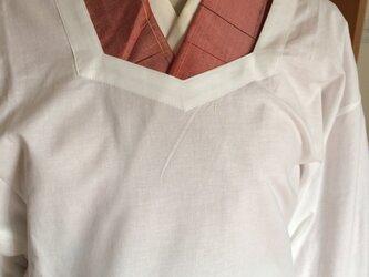着物用割烹着の画像