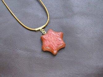 六芒星のネックレスの画像