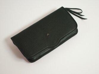 長財布 fldw [ブラック]の画像