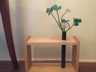 銅管の花器(BOX型)の画像