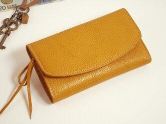 財布 wrap-L (HL) [キャメル]の画像