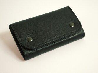 財布 wrap-M [ブラック]の画像