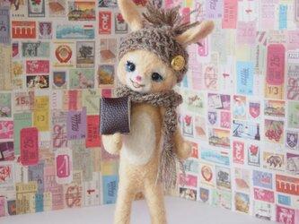 読書の秋 ウサギちゃんの画像