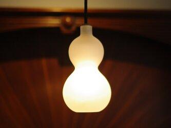 ひょうたんペンダント照明 P-001   White ☆☆値下げしました!☆☆の画像