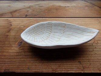 feather flower トレイの画像