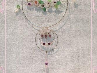 桜月 サンキャッチャー ローズクォーツの画像