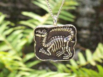 Sv 恐竜シリーズ 『Noー1』 ティラノサウルス全身骨格 ペンダントネックレスの画像