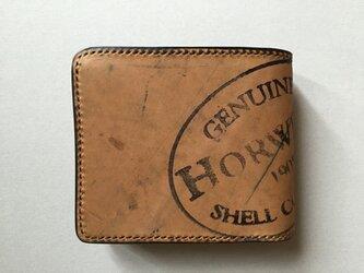 ホーウィンシエルコードバン ショート財布(Horween)の画像