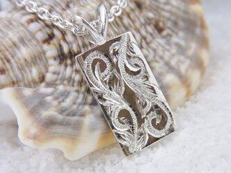 ハワイアンジュエリーペンダント(プレート・Silver)の画像