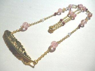 ゴールドウィングのネックレスの画像