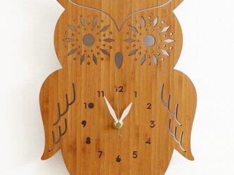Decoylabの掛け時計 AMAZING OWLの画像