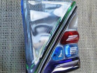 ガラスのブローチmosaic3の画像