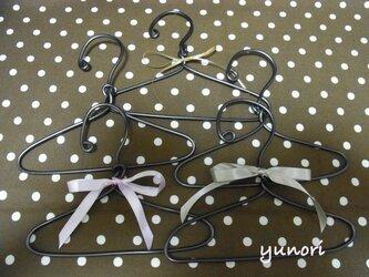 ◆再販◆ワンコ服ハンガー5本セット#1の画像