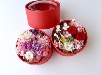 Flower redbox preserved flowersの画像