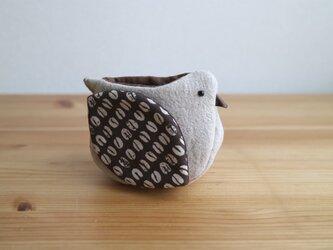 小鳥の小物入れ《珈琲豆》の画像