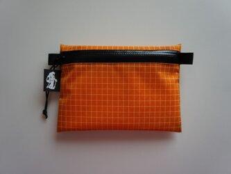 flat pouch M Dyneema X Autumn Orangeの画像