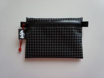 flat pouch M Dyneema X Blackの画像