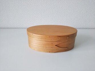 弁当箱 #2 (チェリー)- Shaker Oval Box #2の画像