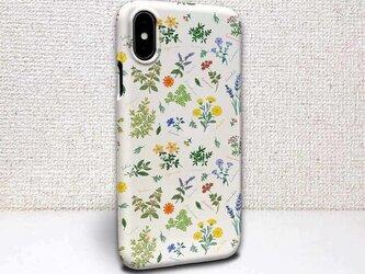 iphone ハードケース iPhoneX iphone8 iphone8 plus iphone7 花柄 ボタニカル柄の画像