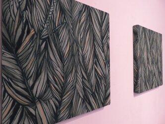 Hawiian Fabric panel  有名ブランドアロハシャツの生地を使ったファブリックパネルの画像