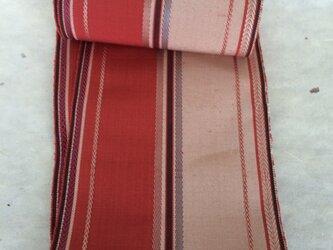 絹の半幅帯の画像