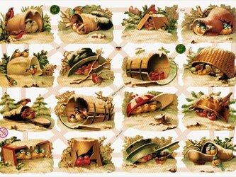 ドイツ製クロモス 冬の小鳥たち ラメなし DA-CHY048 (Made in Germany)の画像