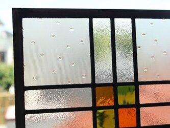 ステンドグラスパネル ー4の画像