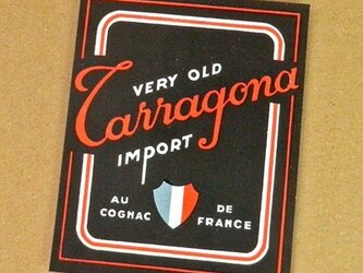 1枚/ Vintage ラベル Vol. 13(Carragona Old French Liquor)DA-LA013の画像