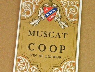 1枚/ Vintage ラベル Vol. 4(Muscat Coop)DA-LA004の画像
