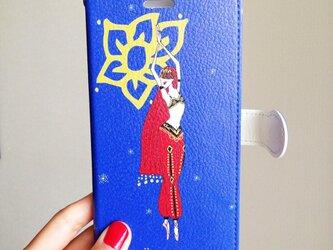 ニキヤ 手帳型スマホケース (iPhone用)の画像