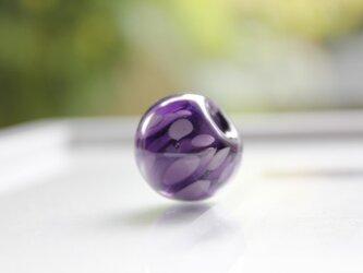 蜻蛉玉 〜浮き草〜 深紫〈i-I〉の画像