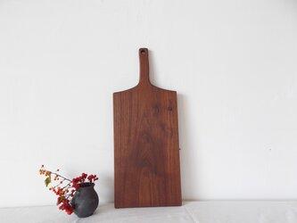 木のカッティングボード (ブラックウォルナット大)の画像