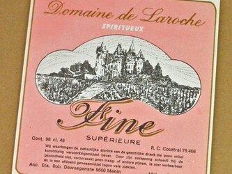 1枚/ Vintage ラベル Vol. 7(Domaine de Laroche / Pink)DA-LA007の画像
