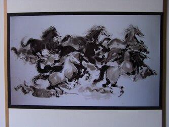 八頭馬の画像