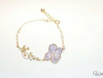 Hydrangea Chain Braceletの画像