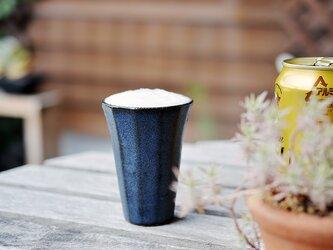 ショットBEERカップ[ダークインディゴ]の画像
