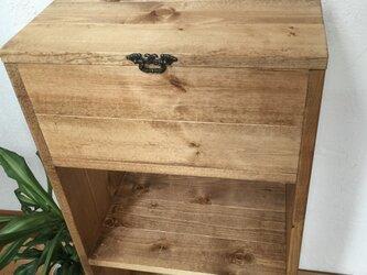 kitchen wagon B *cabinet h86.3 キャスター付き《受注制作》キッチンワゴンの画像