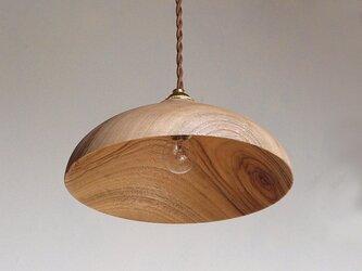 木製 ペンダントランプ 楠(クス)材2の画像