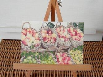 籠に盛られた果物 / postcard 2枚組の画像