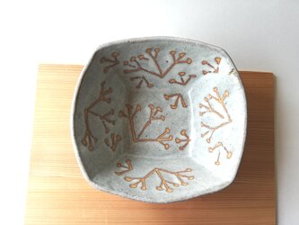 ミツマタ角鉢の画像