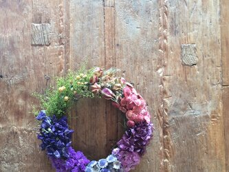 gradation wreatheの画像