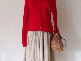 Tia リネンロングスカート(大人フリーサイズ)の画像